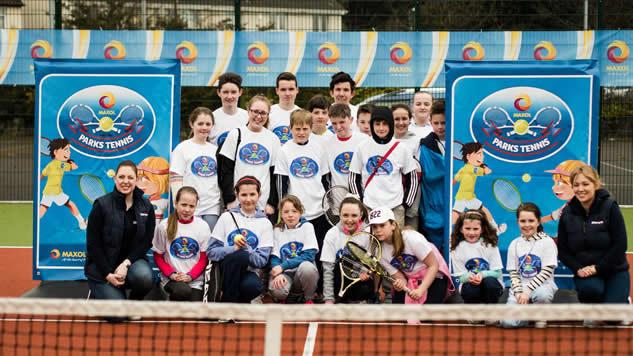 Parks Tennis Ireland Group Photo